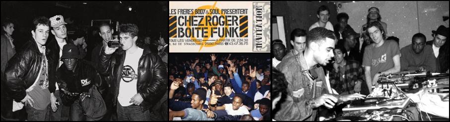 Globo - Chez Roger Boite Funk