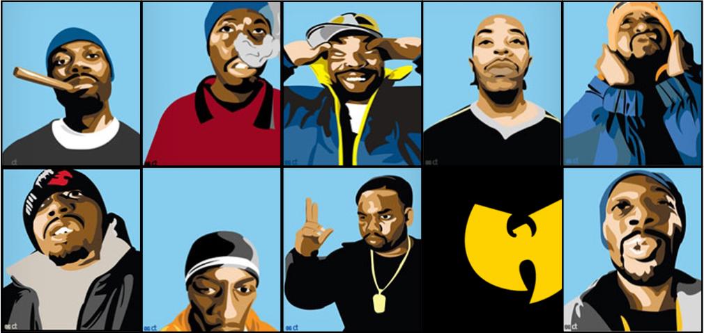 The Wu Tang members