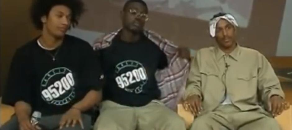 Gynéco, Kenzy et Stomy sur le plateau de Ça se discute, 1995