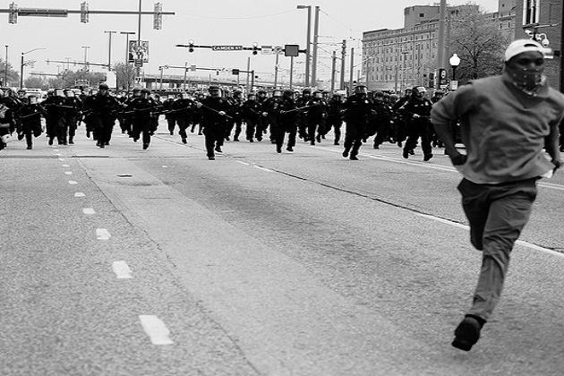 Time Magazine - Baltimore Riots
